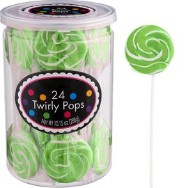 Swirly Pops 24ct.-Green