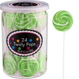 Swirly Pops 24ct.-Green