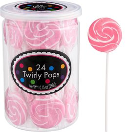 Swirly Pops 24ct.-Pink