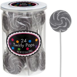 Swirly Pops 24ct.-Silver