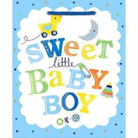 Sweet Baby Boy - Medium Gift Bag -