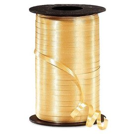 Crimped Ribbon- Gold, 500yd
