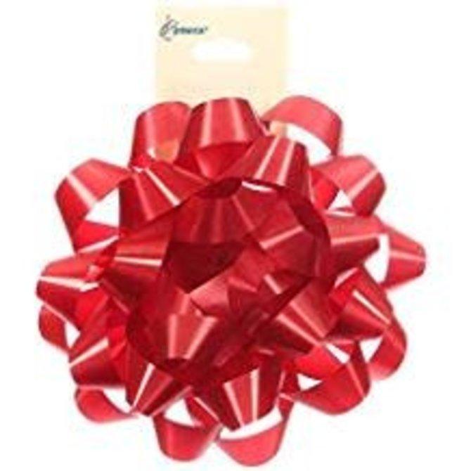 """4"""" Confetti Bow- Red"""