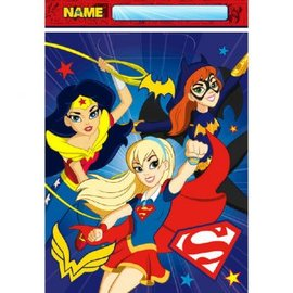 Super Hero Girls Loot Bag, 8ct