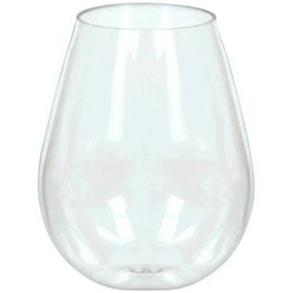 Mini Stemless Wine Glasses - Clear 4oz. 10ct