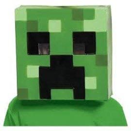 Minecraft Creeper Mask