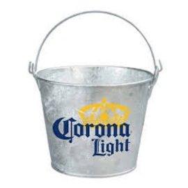 Corona Metal Beer Bucket