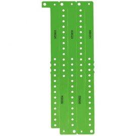 Green Plastic Wristbands, 250 ct.
