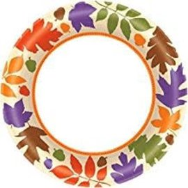 Autumn Warmth Plates, 8""