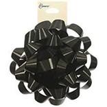 """4"""" Confetti Bow- Black"""