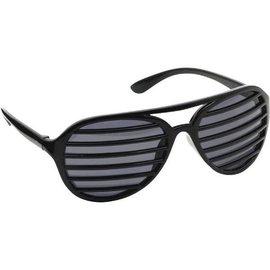 Black Slot Glasses