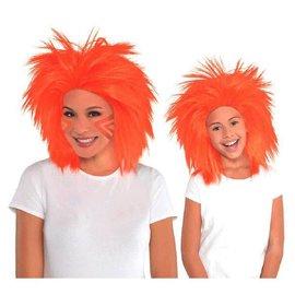 Orange Crazy Wig