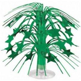 """Mini Star Cascade Centerpiece- Green, 8.5"""""""