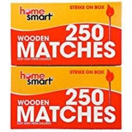 Wooden Matches, 250ct