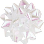 "9"" Bow - Iridescent White"