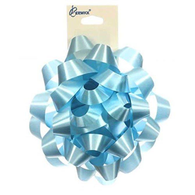 """9"""" Splendorette Bow - Lt Blue"""