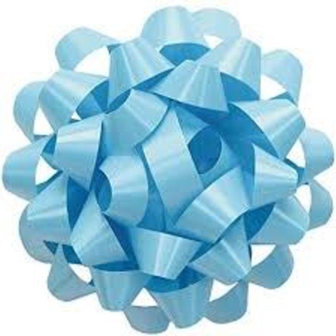 """6"""" Splendorette Bow - Lt Blue"""