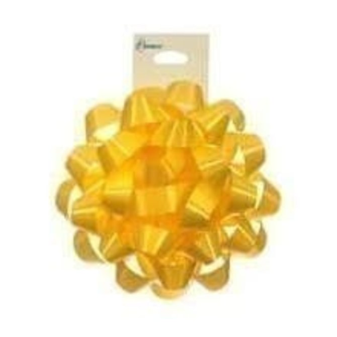 "4"" Confetti Bow - Yellow"