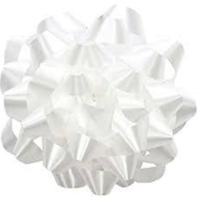 """6"""" Splendorette Bow - White"""