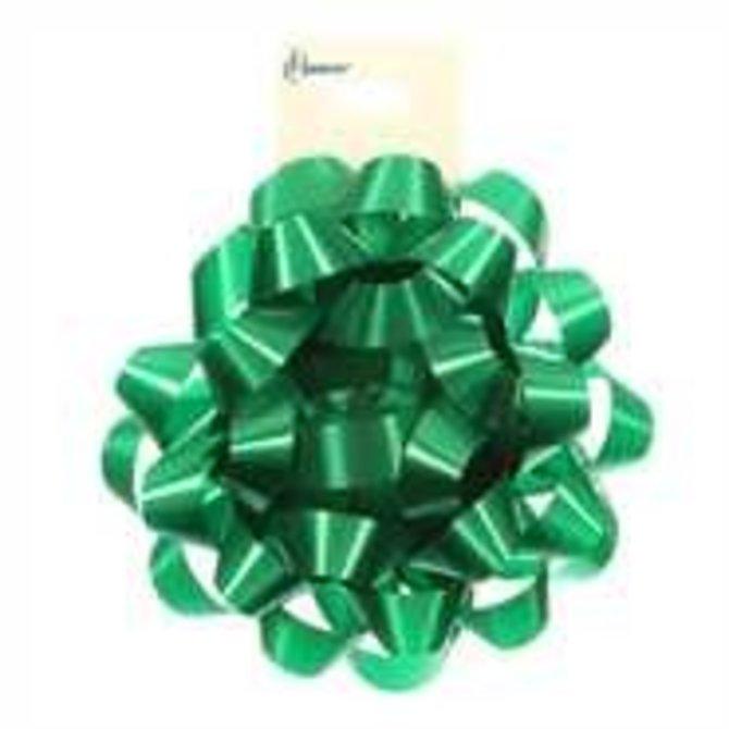 """4"""" Confetti Bow - Emerald Green"""