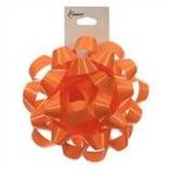 """4"""" Confetti Bow - Tropical Orange"""