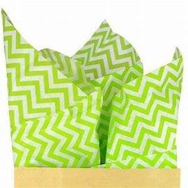 Tissue Printed Zig Zag Kiwi