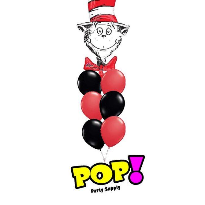 Dr. Seuss Cat in the Hat Balloon, 42""