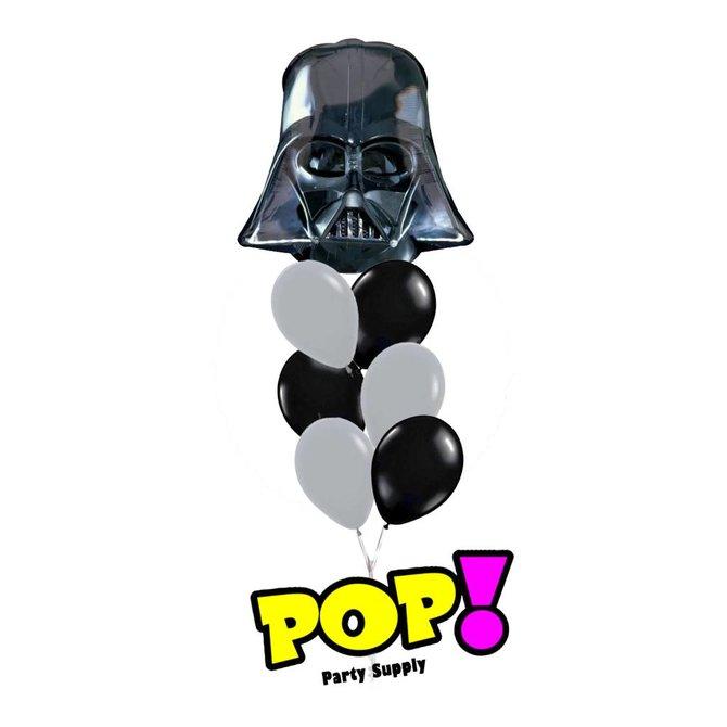 """Darth Vader Helmet Balloon, 25"""""""