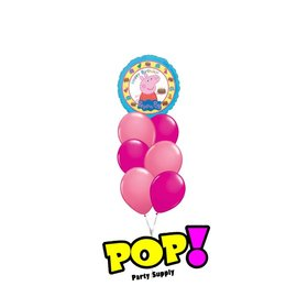 Peppa Pig Birthday Balloon, 18""