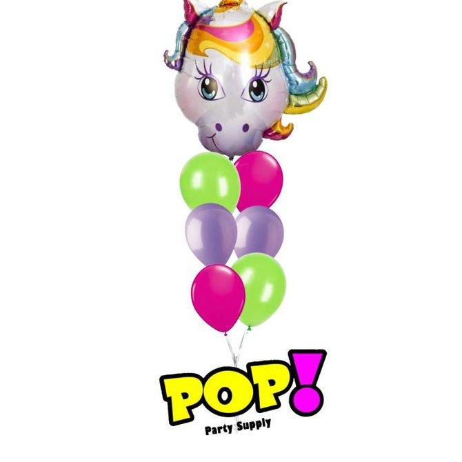 "Magical Unicorn Balloon, 38"""