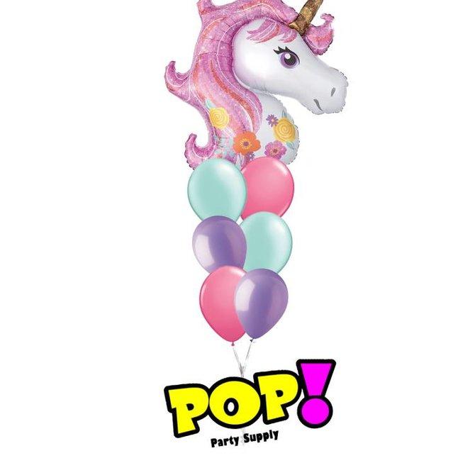 "Shimmer Unicorn Balloon, 33"""