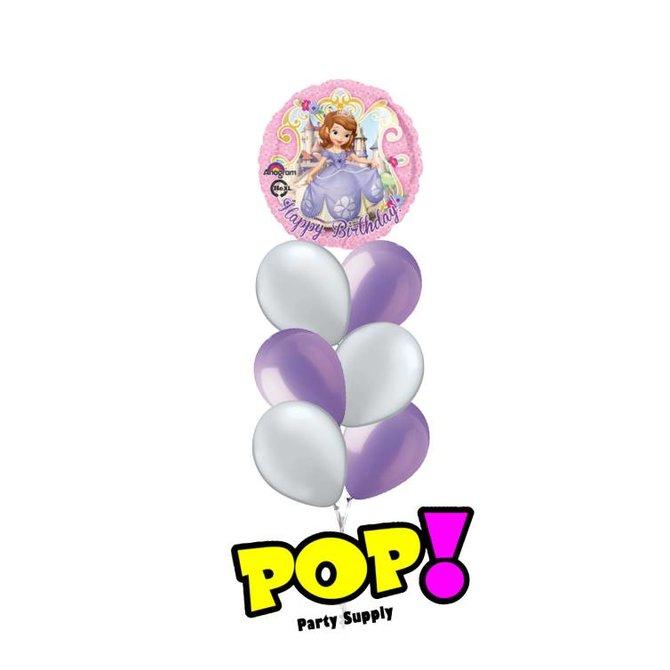 "Sofia The First Birthday Balloon, 18"""