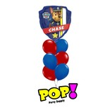 Paw Patrol Chase/Marhsall Balloon, 27""