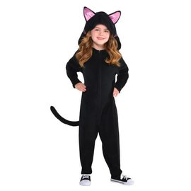Kids Black Cat Zipster (#260)