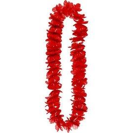 Red Hawaiian Lei