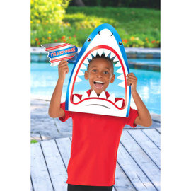 Shark Head Photo Prop 2pc