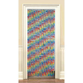 Fabric Flower Lei Door Curtain