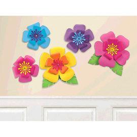 Hibiscus Paper Flowers