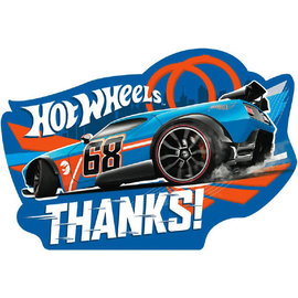 Hot Wheels Wild Racer™ Postcard Thank You Cards 8ct
