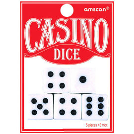 Playing Dice 5ct
