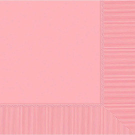 New Pink 2-Ply Luncheon Napkins, 50ct