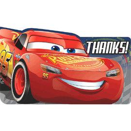 ©DISNEY CARS 3 Postcard Thank You, 8ct - Clearance