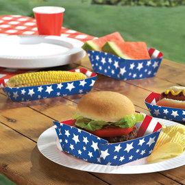 Food Trays Patriotic