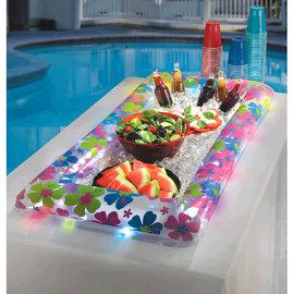 """Hibiscus Light-Up Buffet Cooler 4.5""""x2'x4'"""