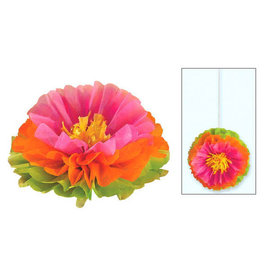 "Hibiscus Fluffy Flower Decoration, 16"", 3ct"