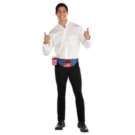 Patriotic Fanny Pack Drink Holder
