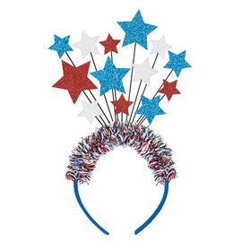 Patriotic Spray Headband