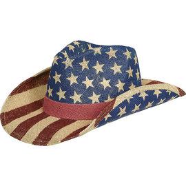 Patriotic American Flag Cowboy Hat