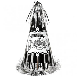 Chalkboard Birthday Cone Party Hat