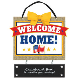 Welcome Home Deluxe Hanging Sign